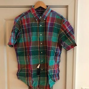 Polo Ralph Lauren Short Sleeve Shirt XL NEW